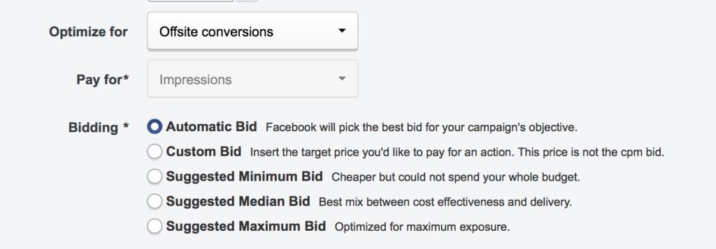 automatic bids